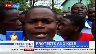 Protests and KCSE: Students say teachers not in school