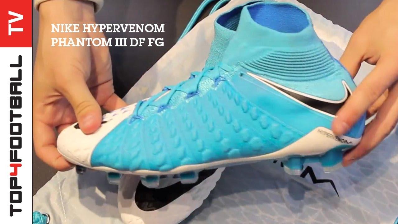 eacde66a6 TOP4FOOTBALL UNBOXING - Nike Hypervenom Phantom III DF FG - YouTube