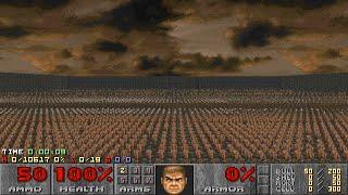 Doom II: Nuts 100% Kills - 85 Revenants vs 850 Cyberdemons [TAS]