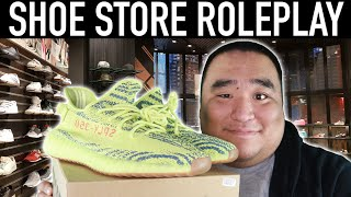 [ASMR] Shoe Store RP 👟 - Tapping, Scratching, Soft Spoken, Yeezy  | MattyTingles