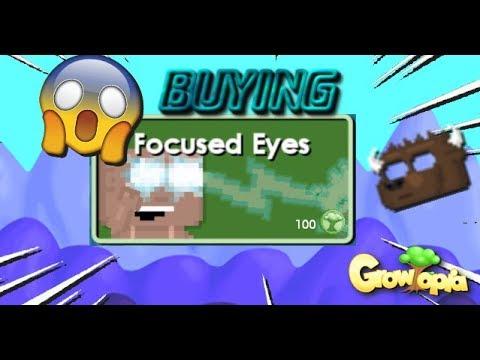 🔴 Buying Focused Eyes   Growtopia🔥😱!