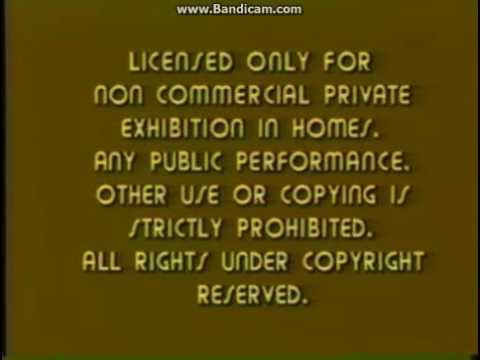 Opening To Bon Voyage Charly Brown 1980 VHS