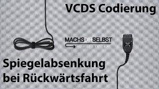 audi a3 8v spiegelabsenkung bei rckwrtsfahrt codieren mit vcds tutorial hd