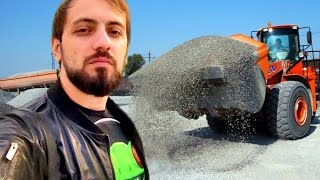 видео Гравийный бетон