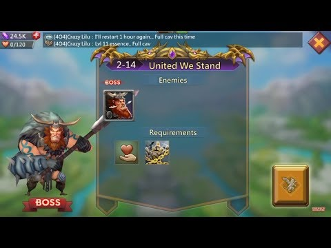 Lords Mobile Challenge 2-14