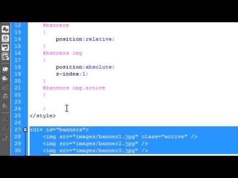 JavaScript: CrossFade Images/Banners (Rotating)