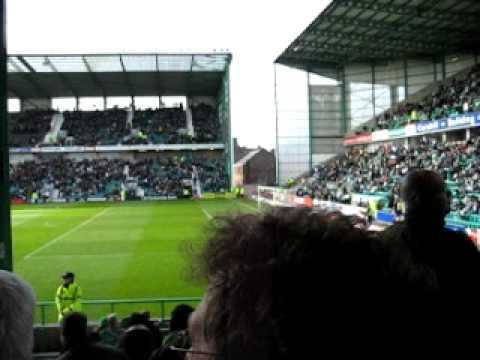 Hibernian - Heart of Midlothian 1:0 - Glory Glory to the Hibees