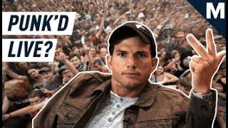 Ashton Kutcher explains how 'Punk'd' would've been better with 5G | Mashable