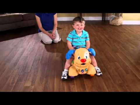 Fisher Price - Laugh & Learn - Stride To Ride Puppy