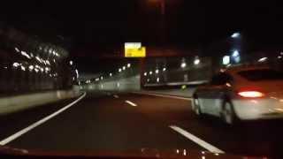 【前面展望】福岡都市高速 環状線・野芥〜1号線・香椎東
