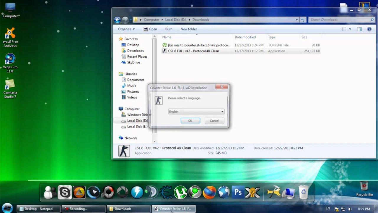 Download counter strike 1. 6 non steam protocol 48.