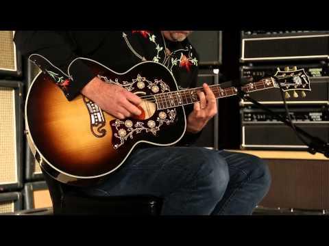 Gibson Montana SJ-200 Bob Dylan Player's Edition  •  SN: 12804059