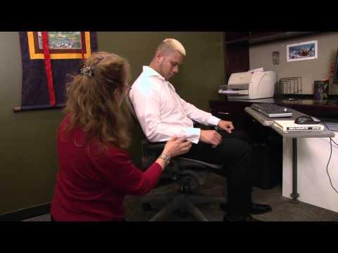 Proper Desk Ergonomics - Ellen Kolber, Occupational Therapist, NYC