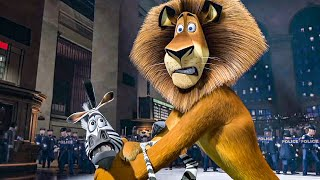 Grand Central Station Showdown Scene - MADAGASCAR (2005) Movie Clip