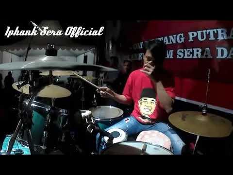 Ditinggal Rabi Cover Kendang by Iphank Sera (OM SERA live Alun Alun Sukoharjo Jateng 26/8/2017)