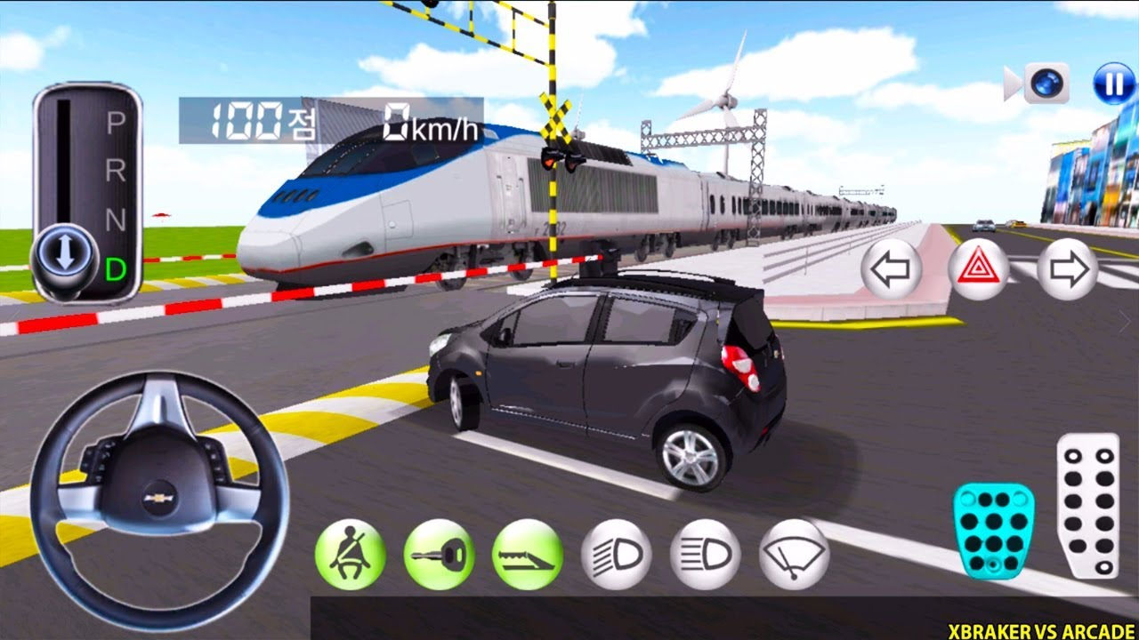 Korean Car Driving Simulator #7 Chevrolet - Driver's License Examination- Best Android Gameplay