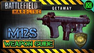 battlefield hardline m12s review gameplay best gun setup   weapon guide getaway dlc bfh