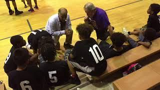 Y.E.S. League Black vs Gray Team -Marvin and Joel Guthrie Coach David