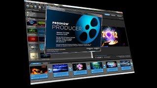 как работать в ProShow Producer. Создание слайда