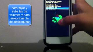 como formatear un dispositivo android  modo recovery ajustes de fabrica