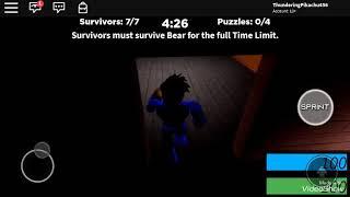 Bear is always WATCHING - ROBLOX Bear