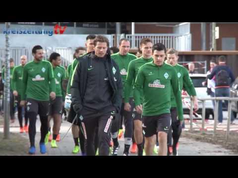 Werder Bremen: Alexander Nouri und Felix Wiedwald über RB Leipzig