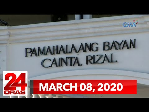 24 Oras Weekend Express: March  8, 2020 [HD]