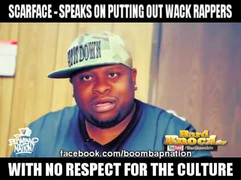 Scarface - Speaks On Putting Out Wack Rappers With No Respect ...