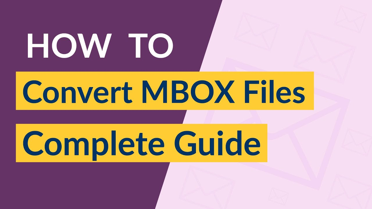 What is MBOX file & How to Convert MBOX Files