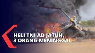 Helikopter Tni Angkatan Darat Jatuh, 3 Orang Meninggal Dunia