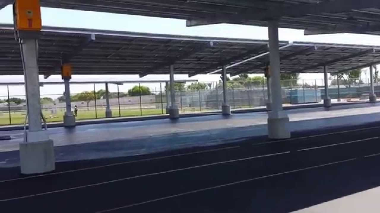 Tour Of Solar Panel Covered Parking Lot At Millikan High