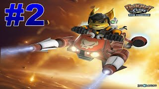 Ratchet And Clank Going Commando Walkthrough  Part 2 Planet Oozla - Whupash Nebula