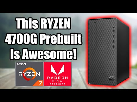 Cheapest Ryzen 4700G Prebuilt PC - Outstanding Performance From This APU!