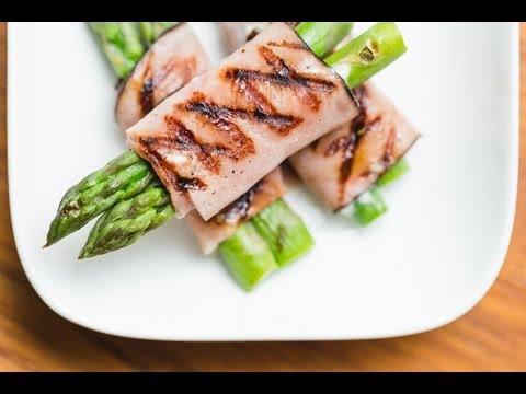 Black Forest Ham Wrapepd Asparagus