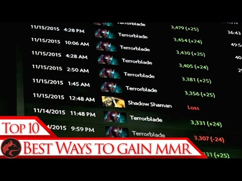 Top 10 ways to increase your MMR in Dota 2