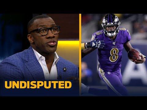Lamar Jackson has 'stranglehold' on NFL MVP after win last night — Shannon Sharpe | NFL | UNDISPUTED