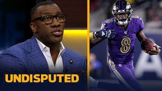 Lamar Jackson has 'stranglehold' on NFL MVP after win last night - Shannon Sharpe | NFL | UNDISPUTED