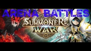 Summoners War: Sky Arena- Briand (Wind Death Knight) in Arena