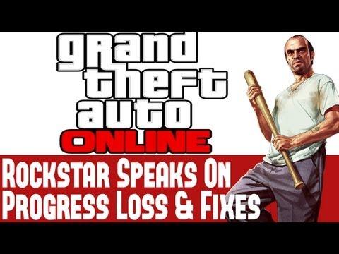 Grand Theft Auto Online News - Rockstar Speaks On Lost GTA 5 Characters, Progress Loss & Fixes