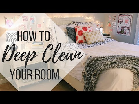 HOW TO CLEAN YOUR ROOM FAST IN 10 STEPS | 2018