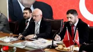 Saadet Partisi İstanbul İl Başkanı Selman Esmerer Yerel Medyayla Kahvaltıda Buluştu