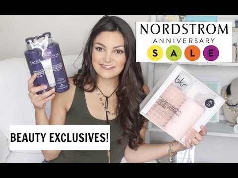 Nordstrom Anniversary Sale | BEAUTY EXCLUSIVES!