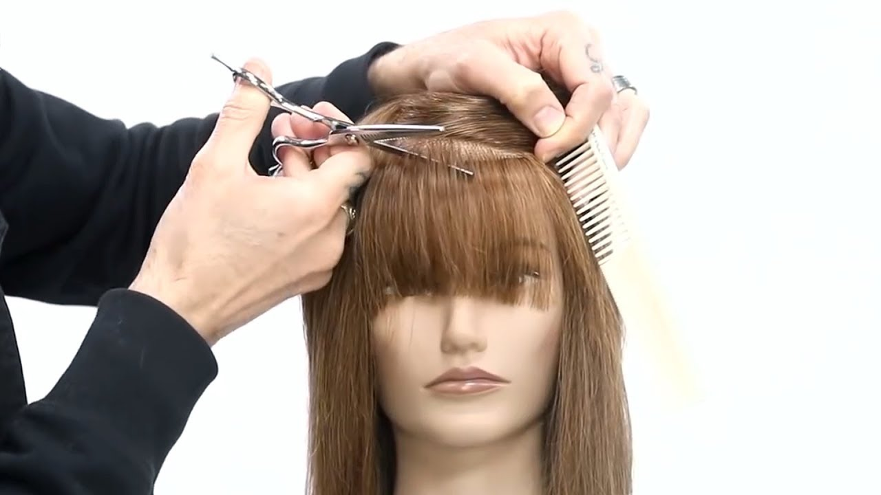 Tricks For Cutting Perfect Bangs