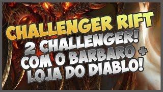 DIABLO 3 ROS - 2º CHALLENGER RIFT + LOJA DO DIABLO + NECRO DESABILITADO