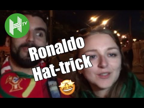 Incredible! 🤩 | Portugal and Spain fans react to Cristiano Ronaldo's astonishing World Cup hat-trick