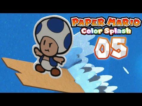 Paper Mario: Color Splash - Part 5: Bloo Bay Beach!