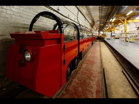 Advisor on Film: Asbestos and pink trains: the new Postal Museum opens