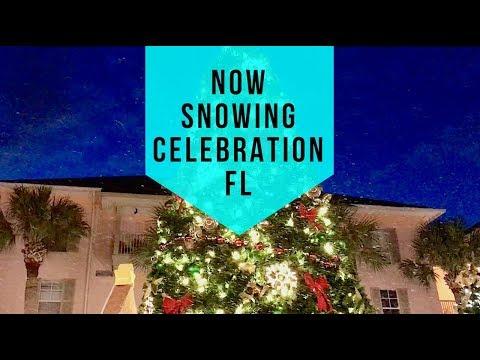 Now Snowing Celebration Florida