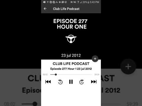 Tiësto's Club Life Episode 277 Two Hours  (Podcast) Part 1/2