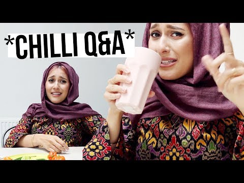 ANSWERING PERSONAL QUESTIONS (*CHILLI EDITION*)